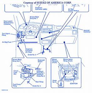 Suzuki Xl7 2002 Fuse Box  Block Circuit Breaker Diagram