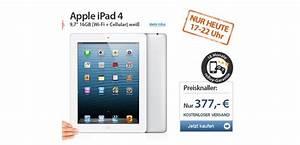 Ipad 2018 Ohne Vertrag : apple ipad 4 wifi 4g 16gb md522fd a f r 349 ~ Jslefanu.com Haus und Dekorationen