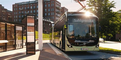 volvo introduces electric bus   passengers
