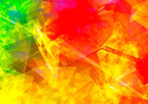 Design Backgrounds Abstract Polygonal Flames Background Design 123freevectors