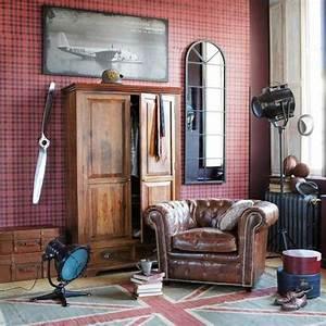 Chesterfield Maison Du Monde : poltroncine da camera in stile vintage foto design mag ~ Teatrodelosmanantiales.com Idées de Décoration
