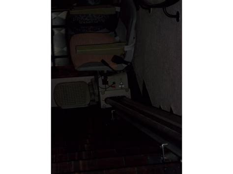 cofidis siege 2ème monte escalier avec siège sur rail de 3 90m de hainaut