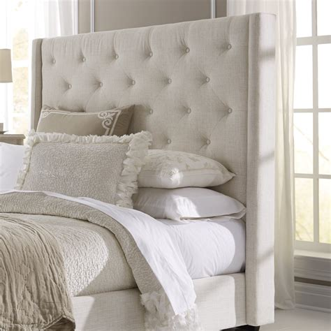 Upholstered Headboard For Sale by Lark Manor Fares Upholstered Wingback Headboard Reviews