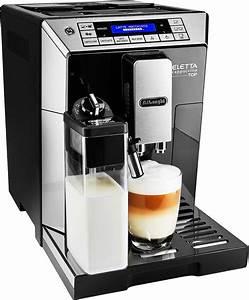 Kaffeevollautomat Mit Mahlwerk : de longhi kaffeevollautomat eletta ecam b hochglanz schwarz edelstahl ~ Eleganceandgraceweddings.com Haus und Dekorationen