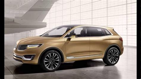 2018 Lincoln New Mkx Redesign Youtube