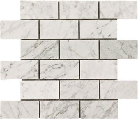 7 50sf carrara bianco 3x6 quot marble subway tile