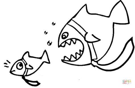 piranha coloring dangerous printable pages catfish drawing piranhas drawings cat supercoloring clipart dot silhouettes popular