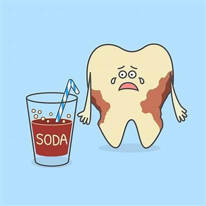 Soda Teeth Versus Tooth Dental Bad Spring