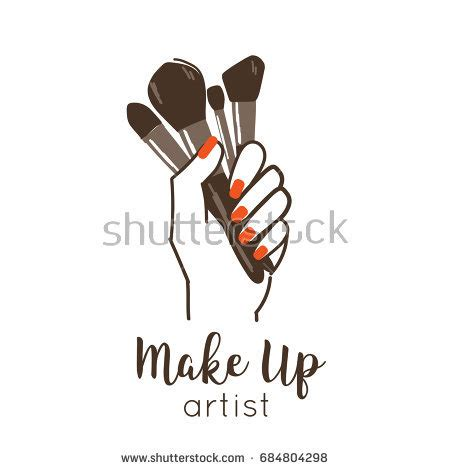 makeup artist logo stock images royalty free images vectors shutterstock