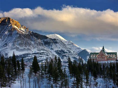 waterton national park lakes canada alberta wales prince hotel nationalgeographic travel