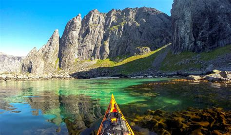 through wall air a family adventure in the lofoten islands luxury