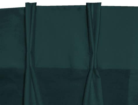 Solid Dark Teal Pinch Pleat Kitchen/cafe Tier Curtains