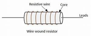 Wire Wound Resistor Schematic Symbol