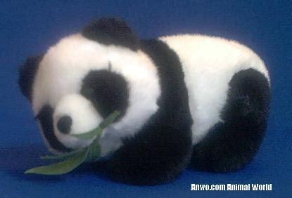 panda stuffed animal plush toy bamboo  anwocom animal world