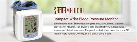 Amazon.com: Santamedical Wrist Digital Blood pressure