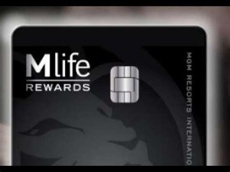 mgm mlife credit card  las vegas youtube