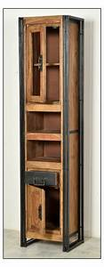 Badezimmer Regal Holz : panama hochschrank regal schrank bad holz metall ebay ~ Frokenaadalensverden.com Haus und Dekorationen