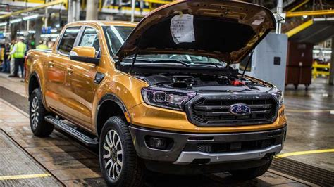 2019 Ford Ranger Production Begins In Michigan