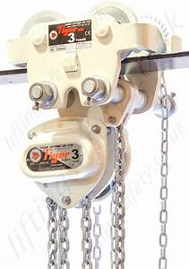 Tiger Corrosion Resistant Chain Hoist And Geared Trolley