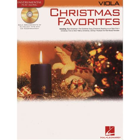 christmas favorites 15 holiday songs for viola with cd