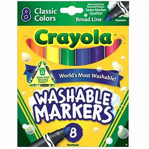 Save On Discount Crayola Washable Markers Pack of 8 ...