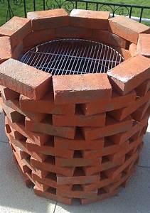 barbecue fait maison brique dm74 jornalagora With barbecue fait maison brique