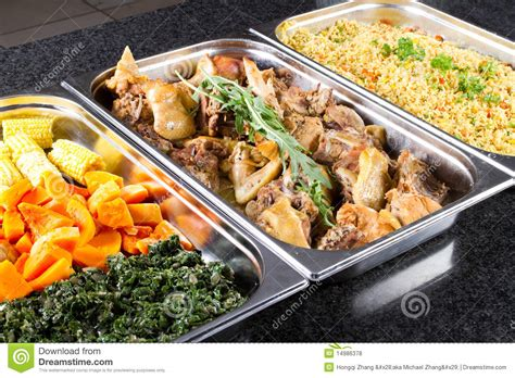 Buffet Food Stock Photo Image Of Spinach Style Chicken