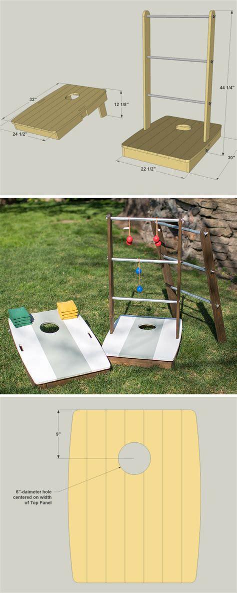 build  diy    outdoor games  printable