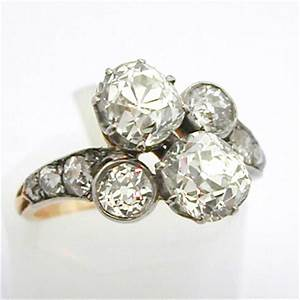 bague fiancaille ancienne diamant With bagues anciennes