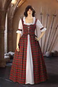 Scottish Tartan Dress