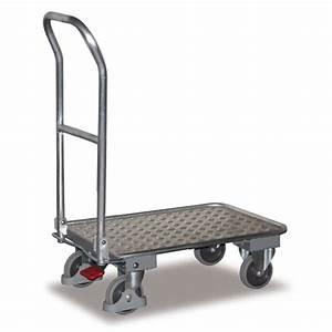 Chariot De Transport Pliable : chariot pliable chariot en aluminium tubulaire chariot de ~ Edinachiropracticcenter.com Idées de Décoration