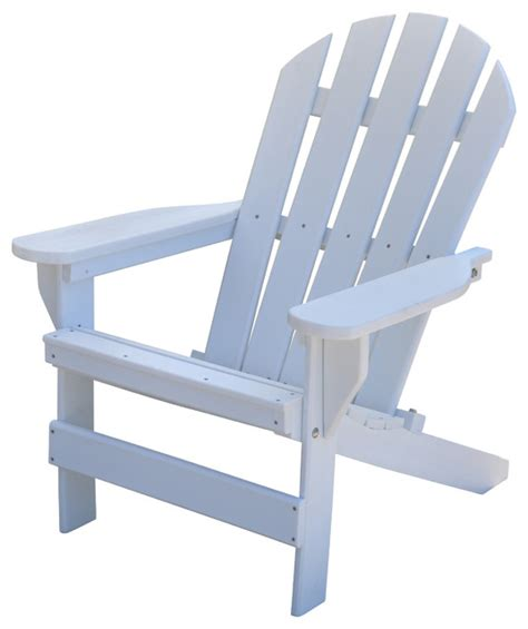 cape cod adirondack chair white traditional