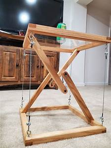 Tensegrity, Impossible, Side, Table, Somethingimade