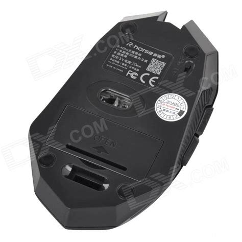 mouse wireless r one w r rh 5399 2 4g 3200dpi wireless mute optical gaming mouse w receiver black 2 aaa