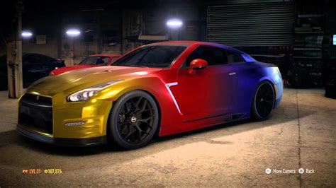 muscle car collection nissan godzilla gtr  colored