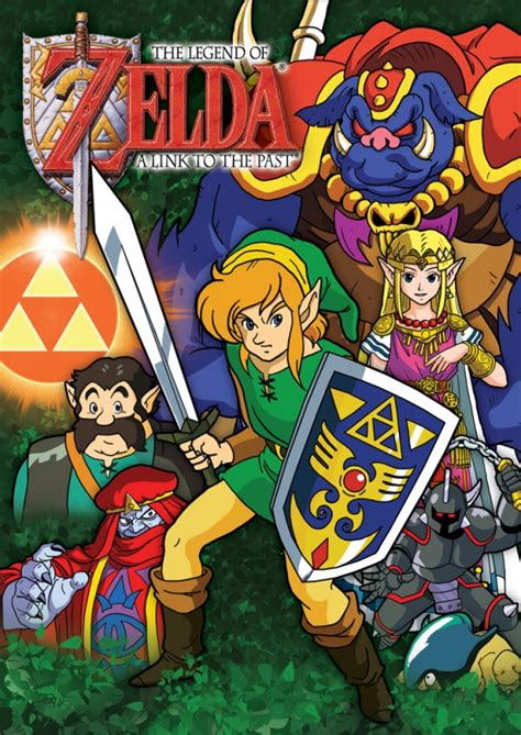 Zelda A Link To The Past Starwars Style Collage