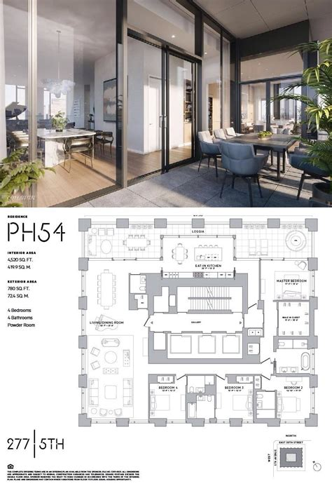 avenue ph  nomad manhattan streeteasy architectural design house plans