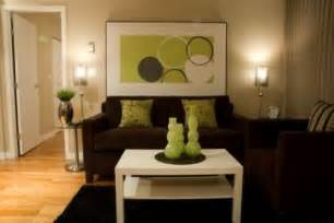 brown and lime green living room wall ideas brown living room ideas with green and
