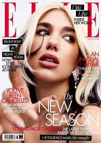 Elle Magazine Lipa Dua August Issue Photoshoot