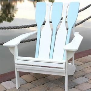 10 adirondack chairs you will love garden decor ideas With homemade beach furniture