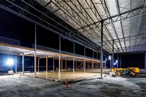 dartmouth distribution centre leon ns night lindsay construction