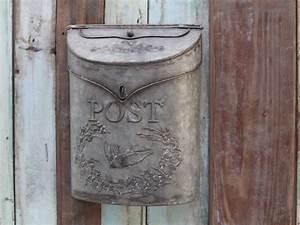Metall Haus Deko : chic antique briefkasten metall shabby vintage deko ~ Lizthompson.info Haus und Dekorationen