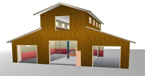 Style X Shop by 40 X 60 Pole Barn Home Designs Barn With Apartment