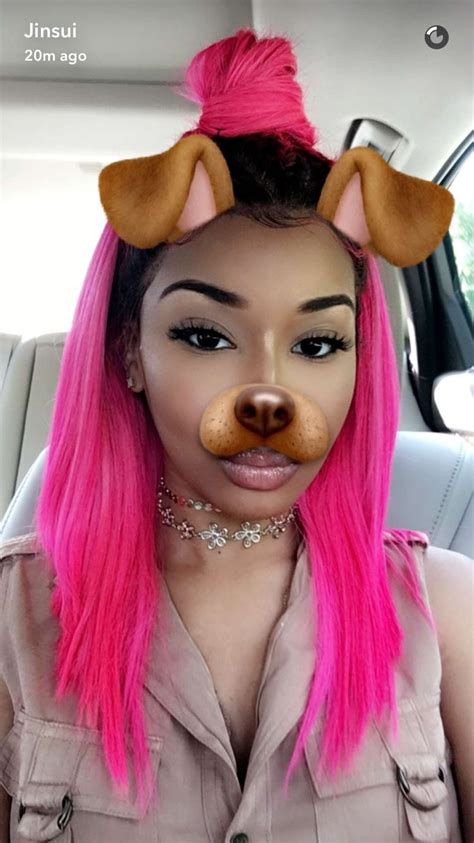 Pink Hair On Black Girls  wwwpixsharkcom Images
