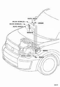 Scion Xb Engine Control Module  Electrical  System