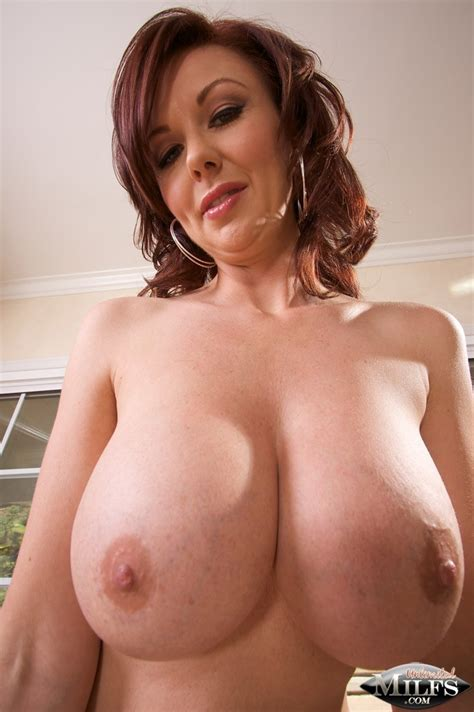 Busty Redhead Milf Posing Milf Porn Hot Milfs And Milf