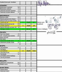 Programmes Objectif  Masse Musculaire De Exercices De Musculation En Bodybuilding 6 U00b0partie
