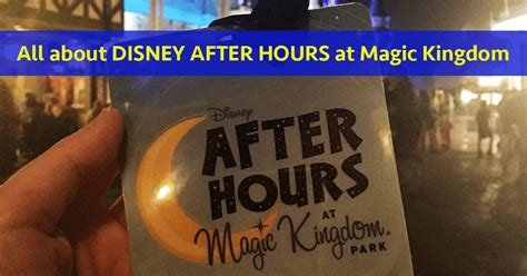 magic kingdom disney hours cost plan time