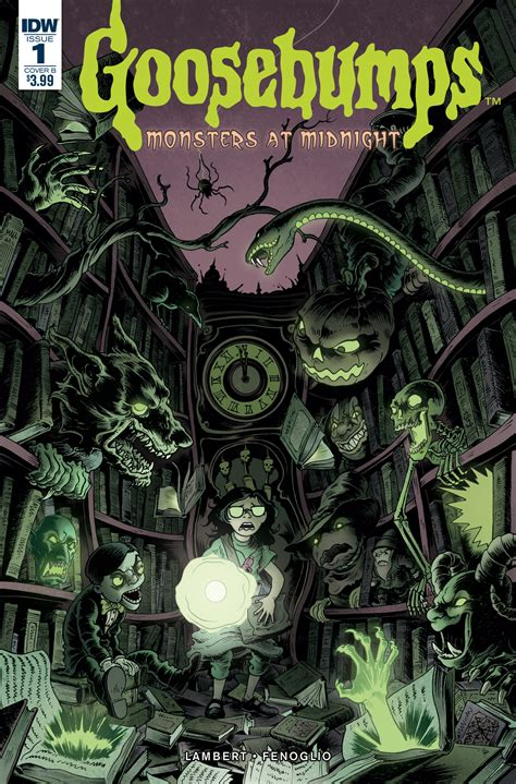 goosebumps monsters  midnight  idw publishing