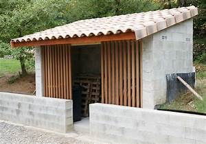 Abris Buches Bois : construction d 39 un abri pour bois de chauffage real bricolage dans la maison forum allinbox ~ Melissatoandfro.com Idées de Décoration